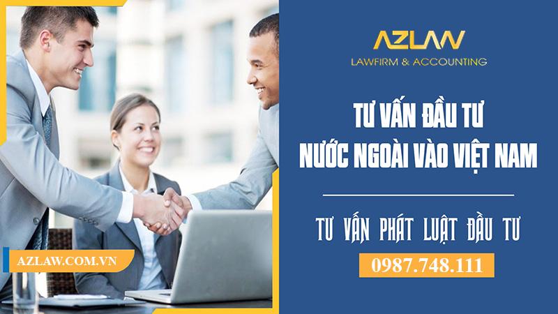 Dịch vụ luật sư tư vấn đầu tư uy tín - nhanh gọn | Azlaw