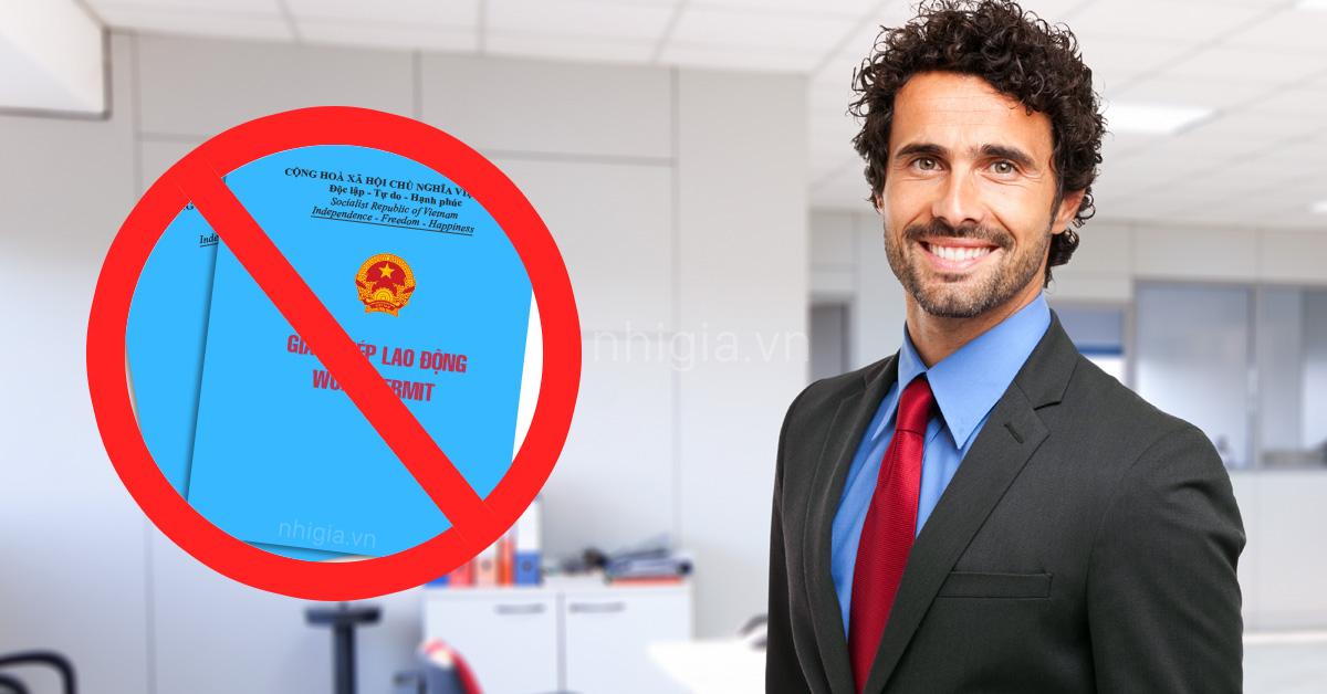 Thủ tục xin miễn giấy phép lao động